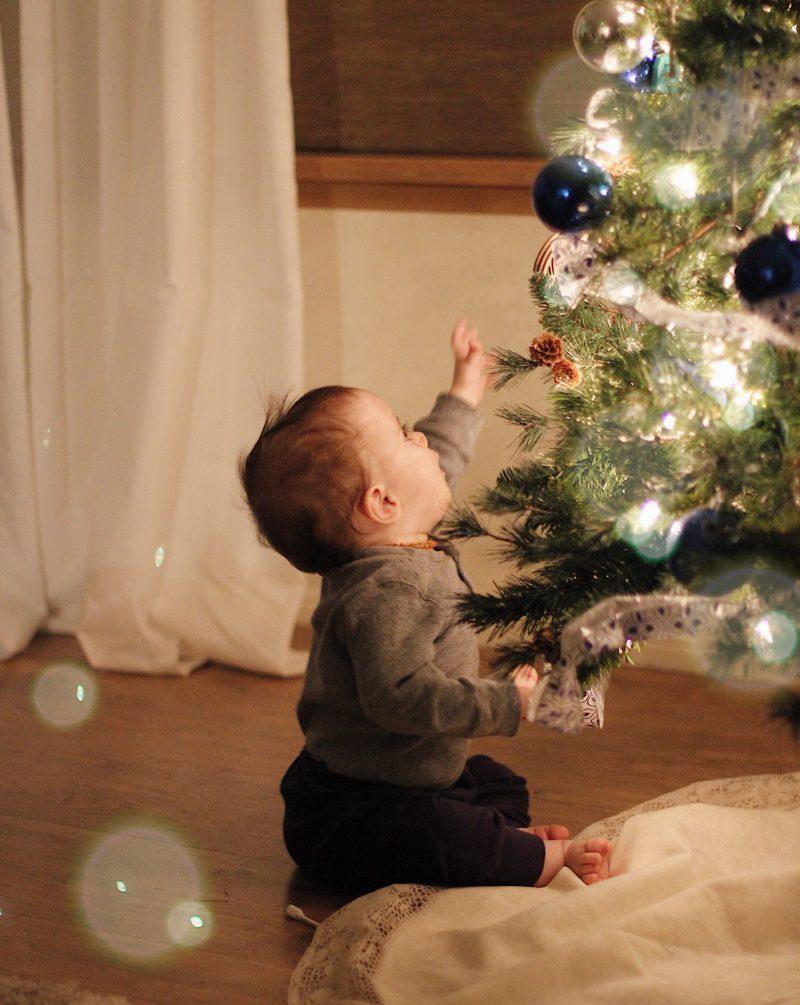 The Magic of Motherhood at Christmas